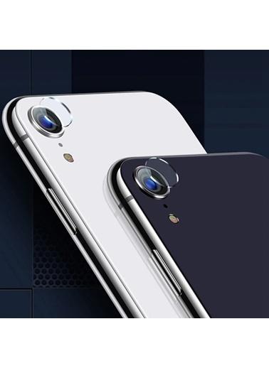 Microsonic iPhone XR (6.1'') Kamera Lens Koruma Camı Renksiz